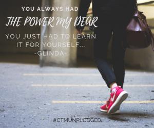 You always had the power my dear…